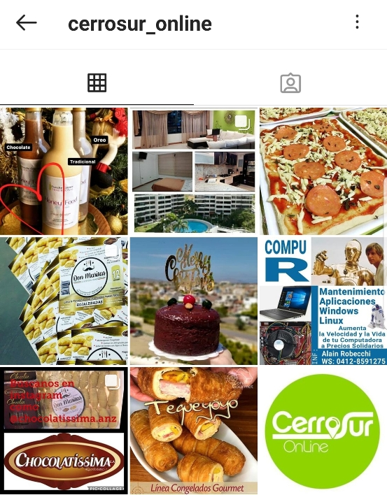 Cerro sur online - Instagram