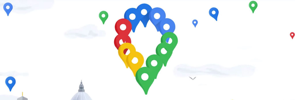 Google Maps: how to create a list of places