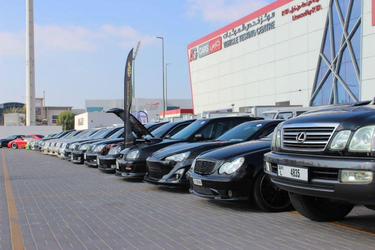 The Black Edition Club is the first to attend two simultaneous events in the UAE