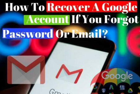 Recover Your Google account: Google troubleshoot guidelines.