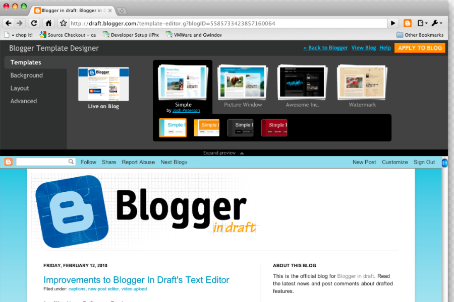 How to create Blogger template for Your Blogspot website