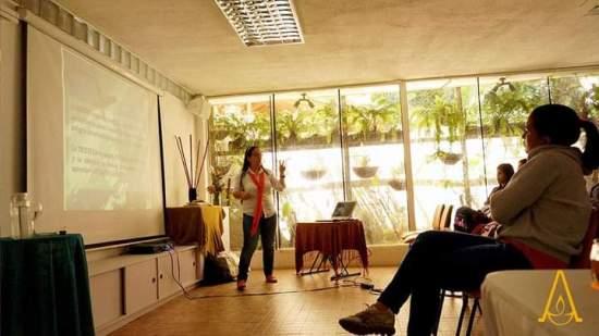 Meditacción: Anais Silva's undertaking to live the conscious present