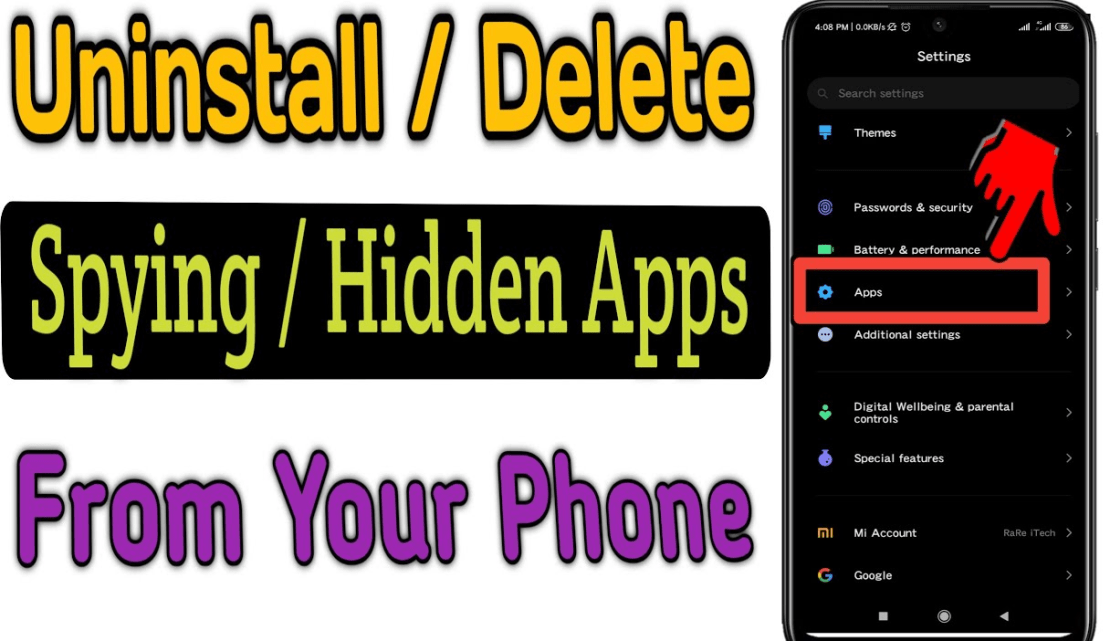 How to Uninstall Or Delete Spying Apps From Any Phone