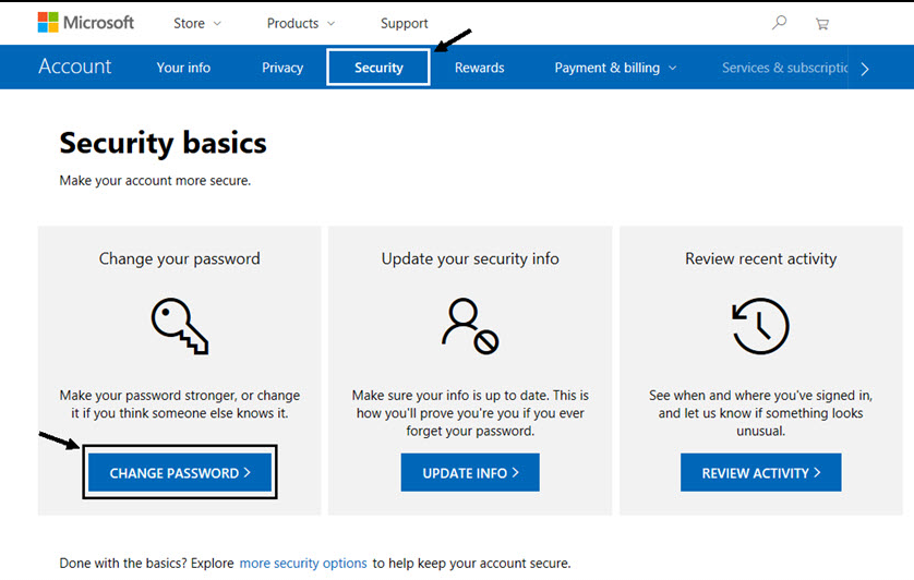 How to verify and make Microsoft account secure