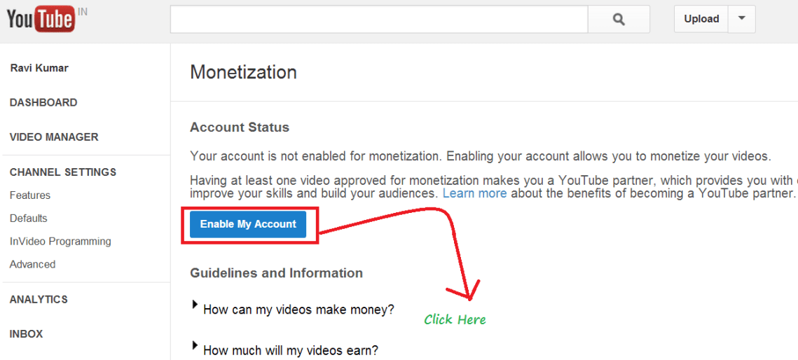How To Re-Enable YouTube deactivated or hidden Account