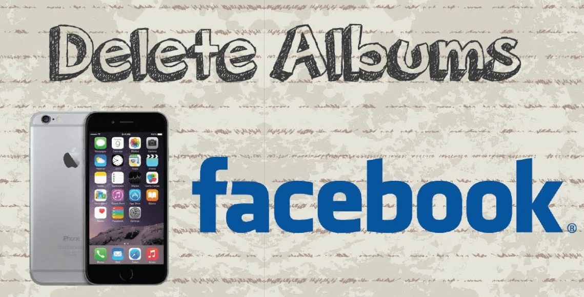How to delete albums from Facebook
